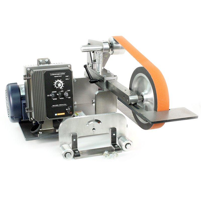 metal belt sander. kmg- 10 vs metal belt sander m