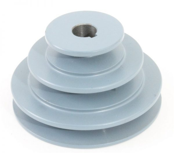 """4-3-2"""" Step pulley with a 5/8"""" bore"""